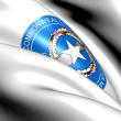 Northern Mariana Islands Coat of Arms — Stock Photo