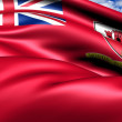 Civil Ensign of Gibraltar — Stock Photo #9371149