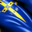 Stock Photo: County Durham Flag, England.