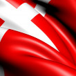 Flag of Denmark — Stock Photo
