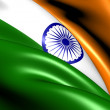 Flag of India — Stock Photo #9423488