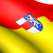 Flag of Sankt Polten, Austria. — Stock Photo