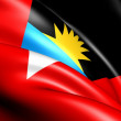 Flag of Antigua and Barbuda — Stock Photo #9539928