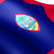 Flag of Guam — Stock Photo