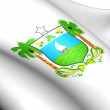 Rio Grande do Norte Coat of Arms, Brazil. — Stock Photo