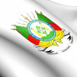 Rio Grande do Sul Coat of Arms, Brazil. — Stock Photo