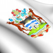 Antigua and Barbuda Coat of Arms — Stock Photo