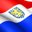 Flag of Netherlands — Stock Photo