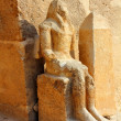 Ancient egypt statue in Giza - Stockfoto