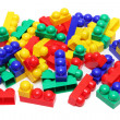Stock Photo: Meccano toy blocks