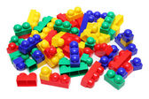 Meccano toy blocks — Stock Photo
