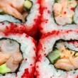 Rolls and sushi macro — Stock Photo #8844203