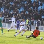 Постер, плакат: Andriy Shevchenko of Dynamo Kyiv scores a goal