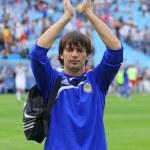 Oleksandr Shovkovsky of Dynamo Kyiv — Stock Photo #10058179