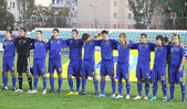 Ukraine (Under-21) National team — Stock Photo