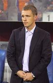 The head coach of FC BATE Borisov Viktor Goncharenko — Stock Photo