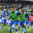 FC Dnipro players — Stock Photo