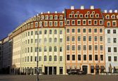 Buildings at Neumarkt square in Dresden — Stock Photo