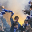 Dynamo Kyiv ultras — Stock Photo