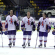 Stock Photo: Great Britain Ice-hockey team