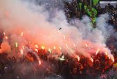 Ultras di Fc dynamo kyiv — Foto Stock