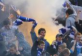 Dynamo Kyiv ultras — Stock Photo