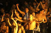 FC Dynamo Kyiv ultras — Stock Photo