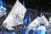 FC Dynamo Kiev team supporters — Stock Photo