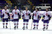 Great Britain Ice-hockey team — Stock Photo