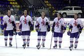 Great Britain Ice-hockey team — Stock Photo