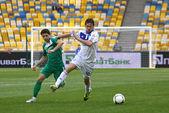 Football game Dynamo Kyiv vs Vorskla Poltava — Stock Photo