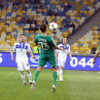 Football game Dynamo Kyiv vs Vorskla Poltava — Stock Photo