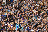 FC Dynamo Kyiv team supporters show their support — Stockfoto