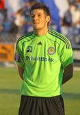 Denys Boyko of Dynamo Kyiv — Stock Photo