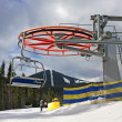 Stock Photo: Bukovel ski resort, Carpathians, Ukraine