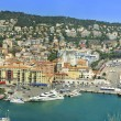 Sea port of City of Nice, France — Stock Photo