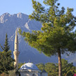 Mosque In Kemer, Turkey - 图库照片