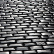 Stone blocks pavement surface — Stock Photo #8830518