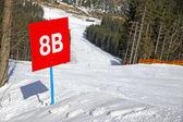 Skigebiet bukovel, karpaten, ukraine — Stockfoto
