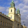 Church of the Holy Cross in Warsaw, Poland — Stock Photo