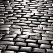 Stone blocks pavement surface — Stock Photo