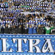 Royalty-Free Stock Photo: FC Dynamo Kyiv ultra supporters show their support
