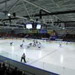 Ice-Hockey game between Ukraine and Kazakhstan — Stock Photo #9117822