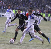 FC Dynamo Kyiv vs Besiktas — Stock Photo