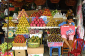 Fruit Market in Phnom Penh, Cambodia — Stock Photo