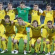 Ukraine Under-21) national team — Stock Photo