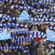 Royalty-Free Stock Photo: Dynamo Kiev team supporters show their support