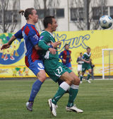 Obolon Kyiv vs Arsenal — Stock Photo