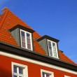 Typical german residential house — Stock Photo