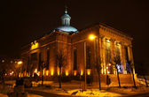 Katedrála krista krále v katowice, polsko — Stock fotografie
